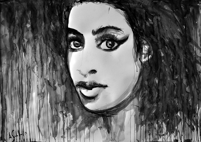 Amy Winehouse Portrait, 2015