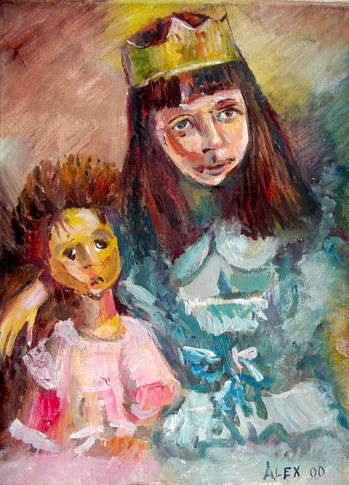 Girl with a Doll, 2000