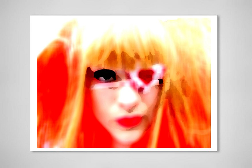Heart shaped eye, 2010