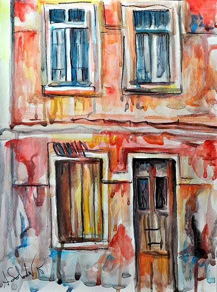 Old house in tavira 2015 alex solodov art for Classic house albums