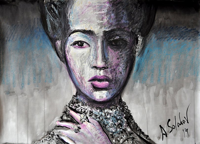 Girl with Pearls, 2014