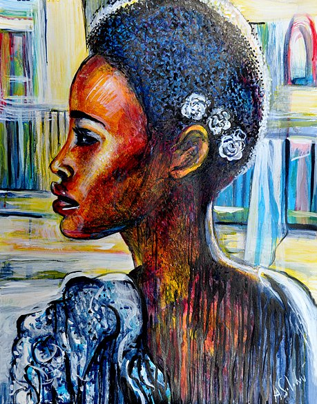 African girl from Lisbon in Profile, 2017